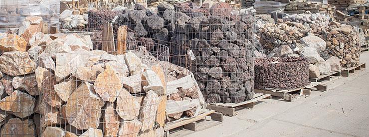 Natural Stone Header